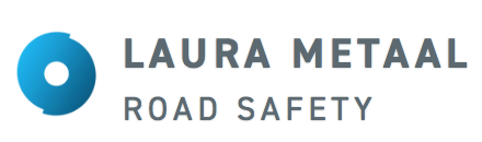 Laura Metal Road Safety logo